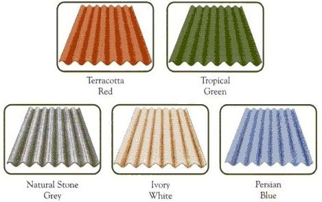 Reinforced Corrugated Cement Sheets Everest Hi Tech Roofing Sheets