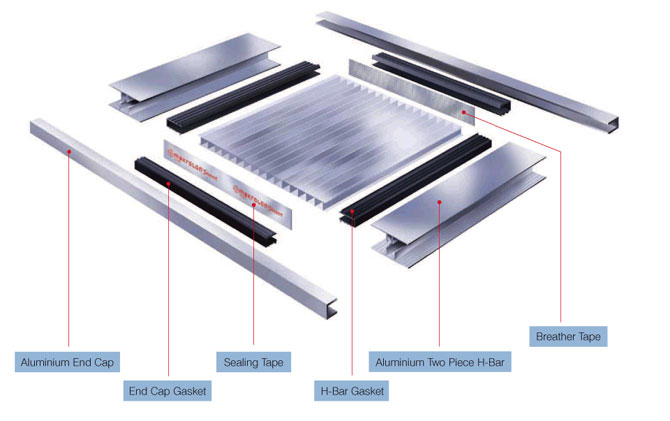 Accessories TUFLITE Multiwall Polycarbonate Sheets